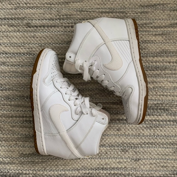 Top Nike 1 High Air Force White Shoes WD2IEH9Y